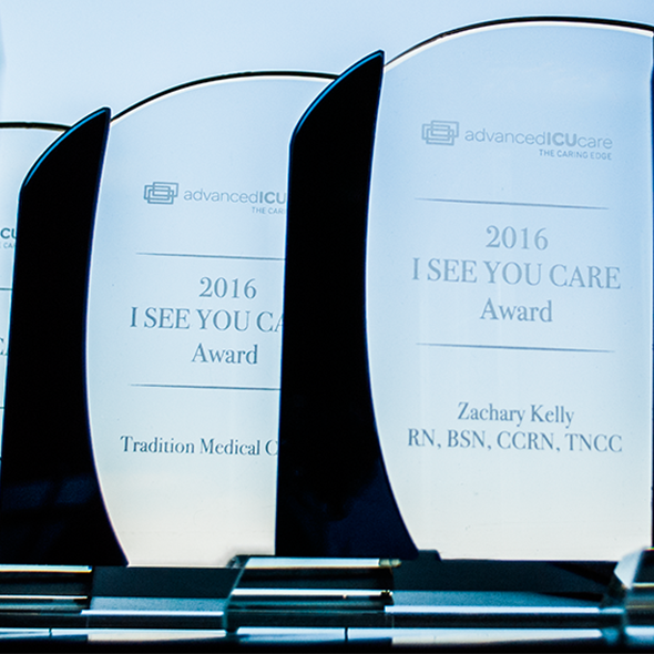 Advanced ICU Care Announces Winners of 2016 I SEE YOU CARE Awards