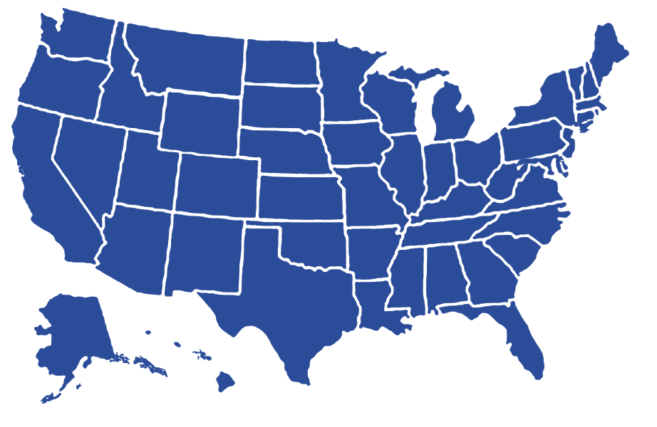 Hicuity Health United States Map